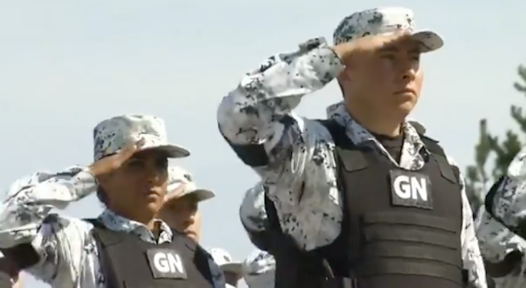 Promocional Guardia Nacional AMLO