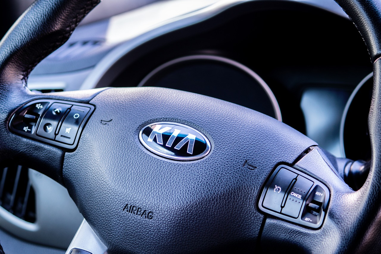 KIA, auto, volante