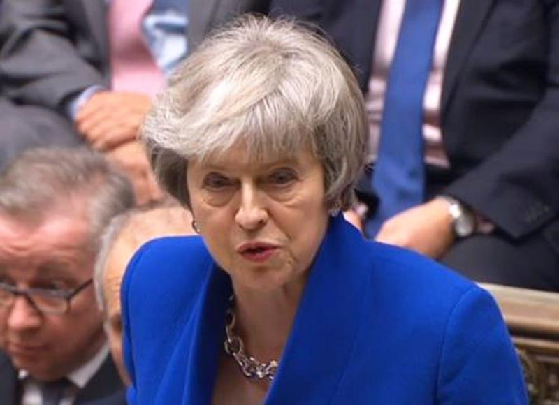 Theresa May, Gran Bretaña, Parlamento, Unión Europea, Brexit,