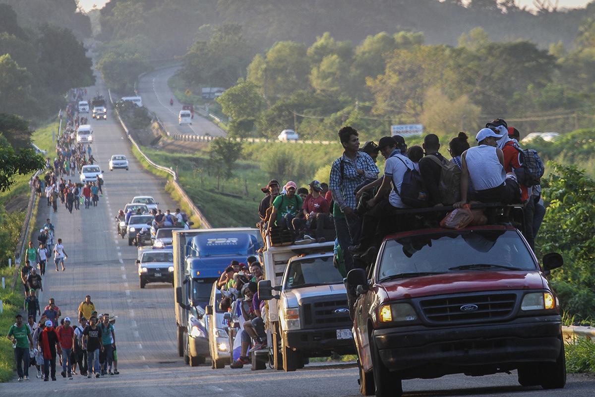Alejandro Encinas, Migración, Caravana Migrante, Frontera Sur, Donald Trump,