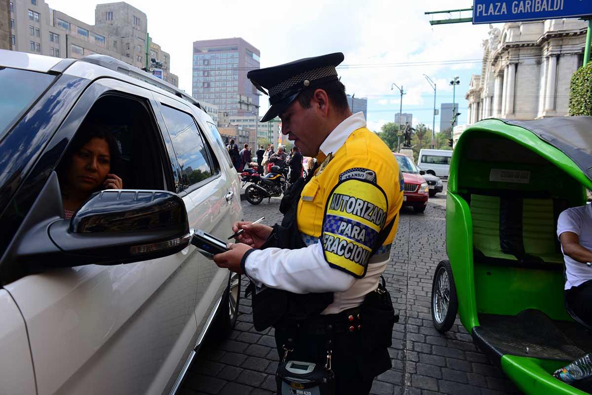 multas, CDMX, tránsito