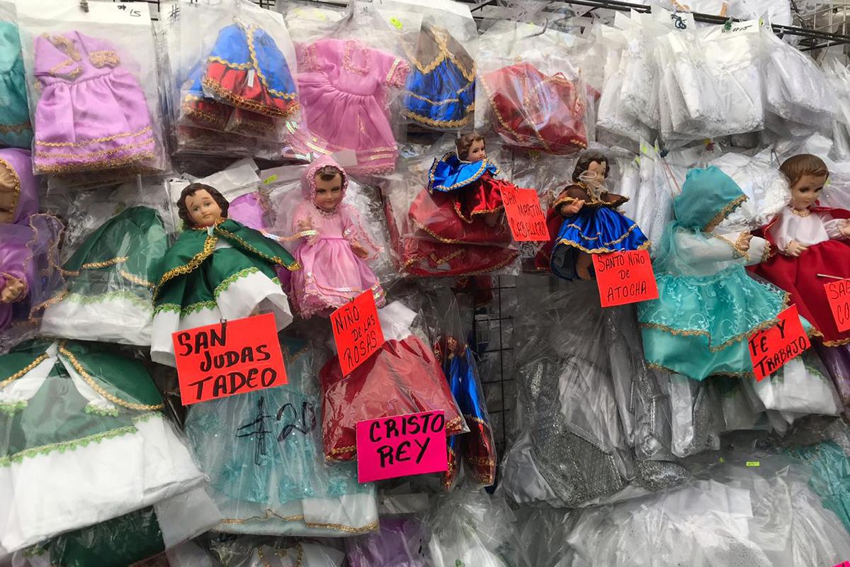 Niño Dios, ropones, 2 de febrero, Día de la Candelaria, Romería