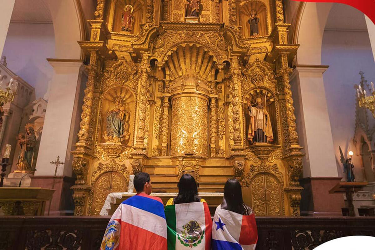 Peregrinos, Jornada Mundial de la Juventud (JMJ) en Panamá, Conferencia del Episcopado, Iglesia, jóvenes, JCP Multimedios,