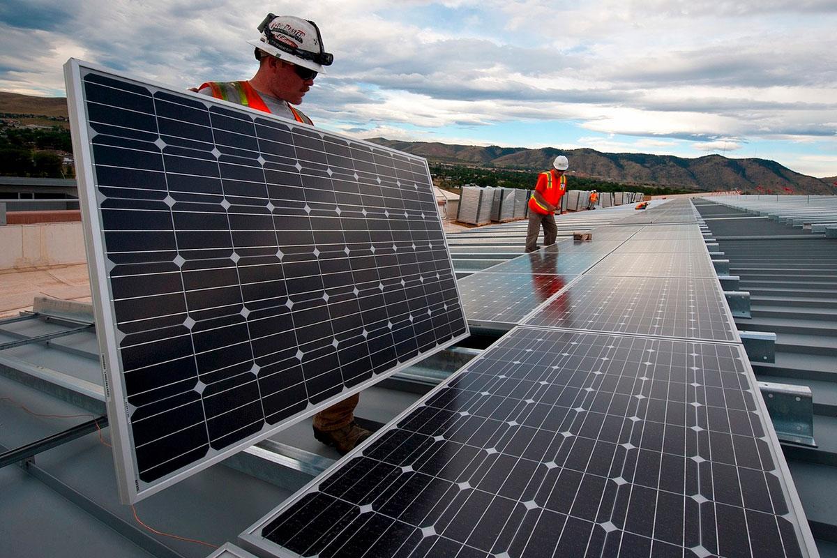 energía solar, páneles solares