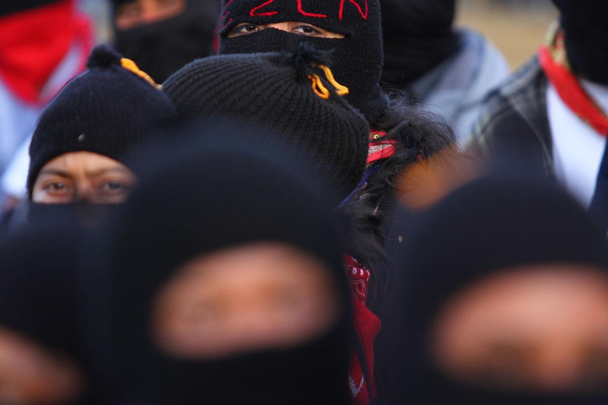 EZLN, Zapatistas, Honduras, rescate, trata de personas,