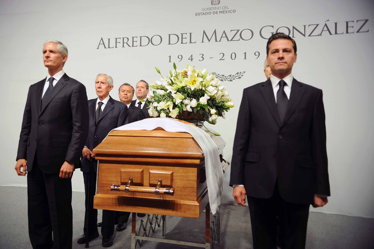 Alfredo del Mazo González, Alfredo del Mazo Maza, Enrique Peña Nieto, Edomex, fallecimiento,
