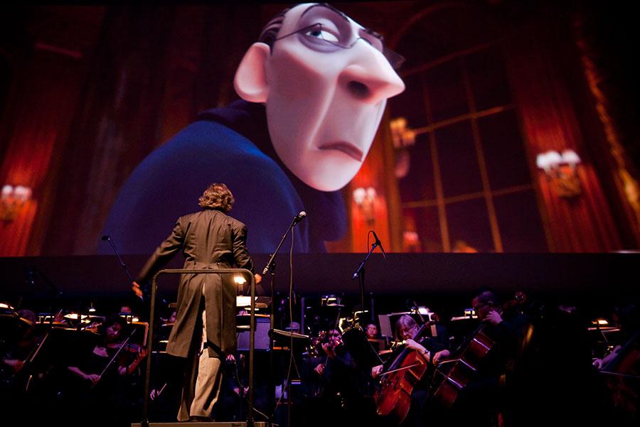 pixar concierto