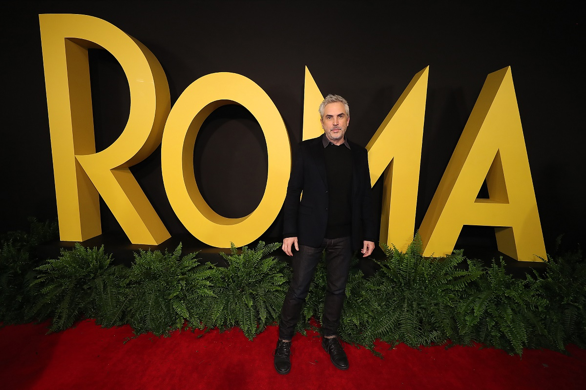 Alfonso Cuaron attend the ROMA Premiere on Monday, Dec. 17 in Mexico City, Mexico. (Photo by Hector Vivas/Netflix)