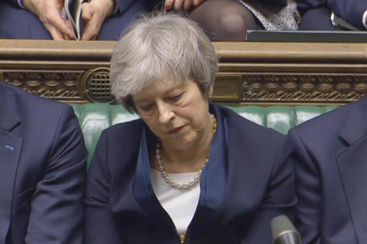 Parlamento británico, Theresa May, Unión Europea, Brexit,