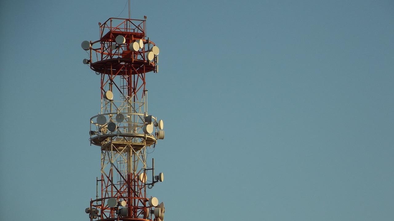 torre, red móvil, pixabay, 4G, 5G