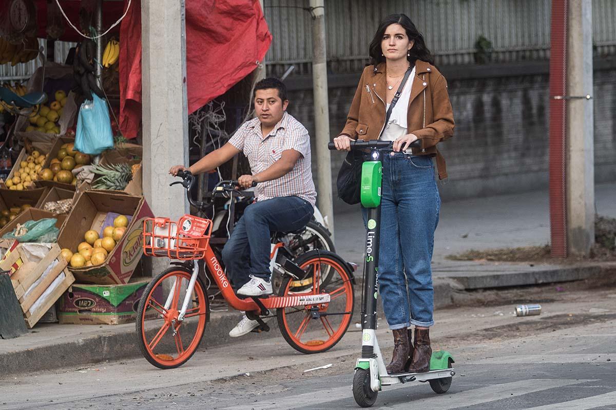 Bicicletas, monopatines, scooters, Movilidad, CDMX,