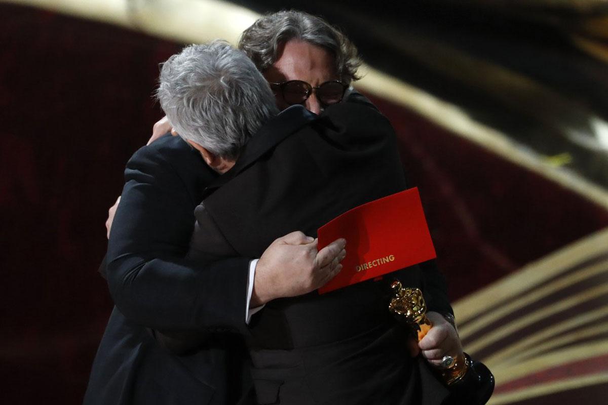 Premios Oscar, Guillermo del Toro, Alfonso Cuarón, Roma, Yalitza Aparicio, Mejor Director,