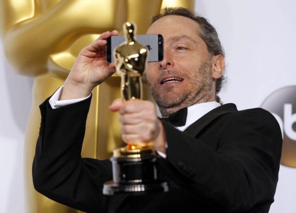 """El cinefotógrafo mexicano Emmanuel Lubezki ganó el Oscar por """"El renacido"""", en 2016"""