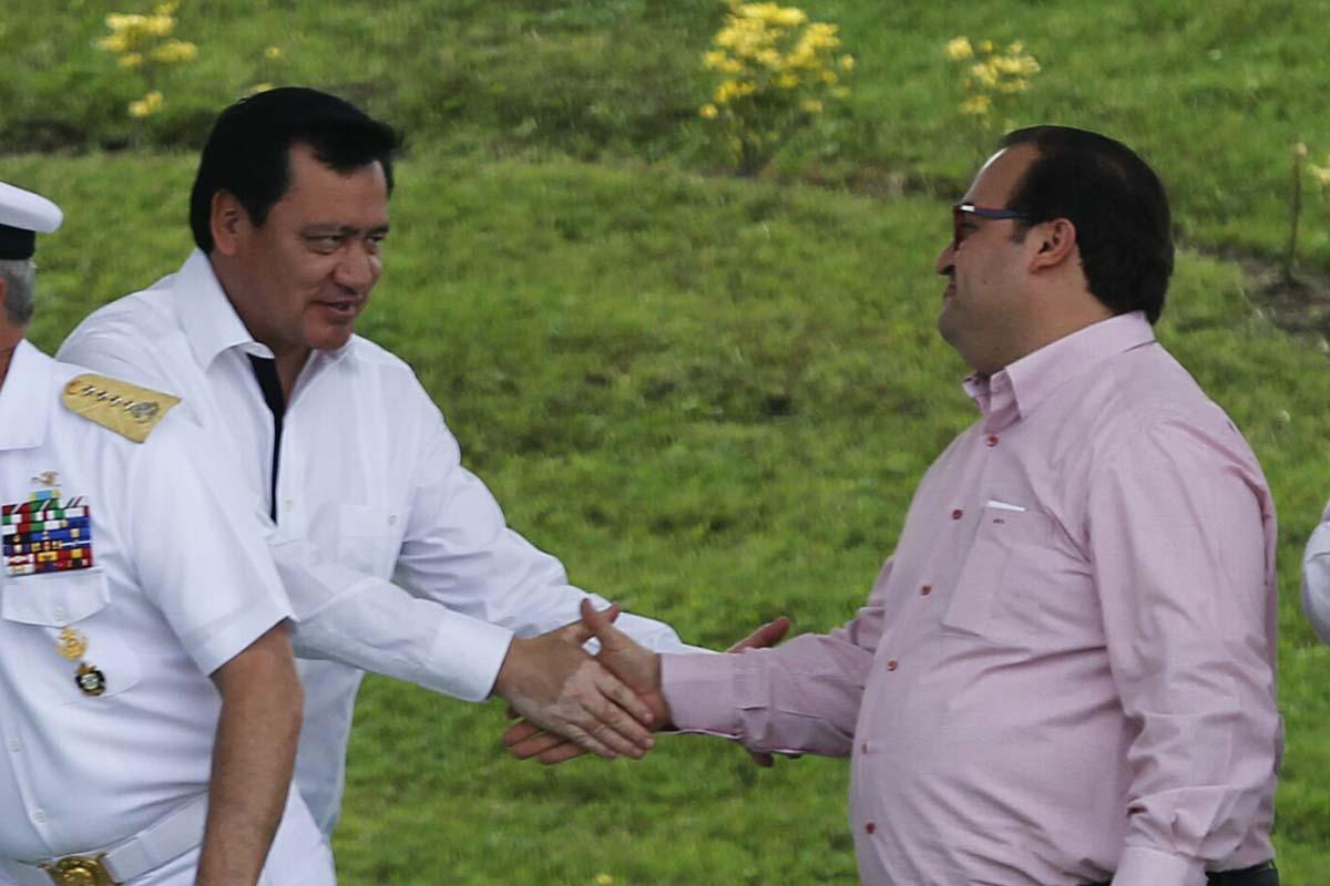 Miguel Angel Osorio Chong, Javier Duarte, Veracruz, Delincuencia Organizada, Segob, Reclusorio Norte, Karime Macías,