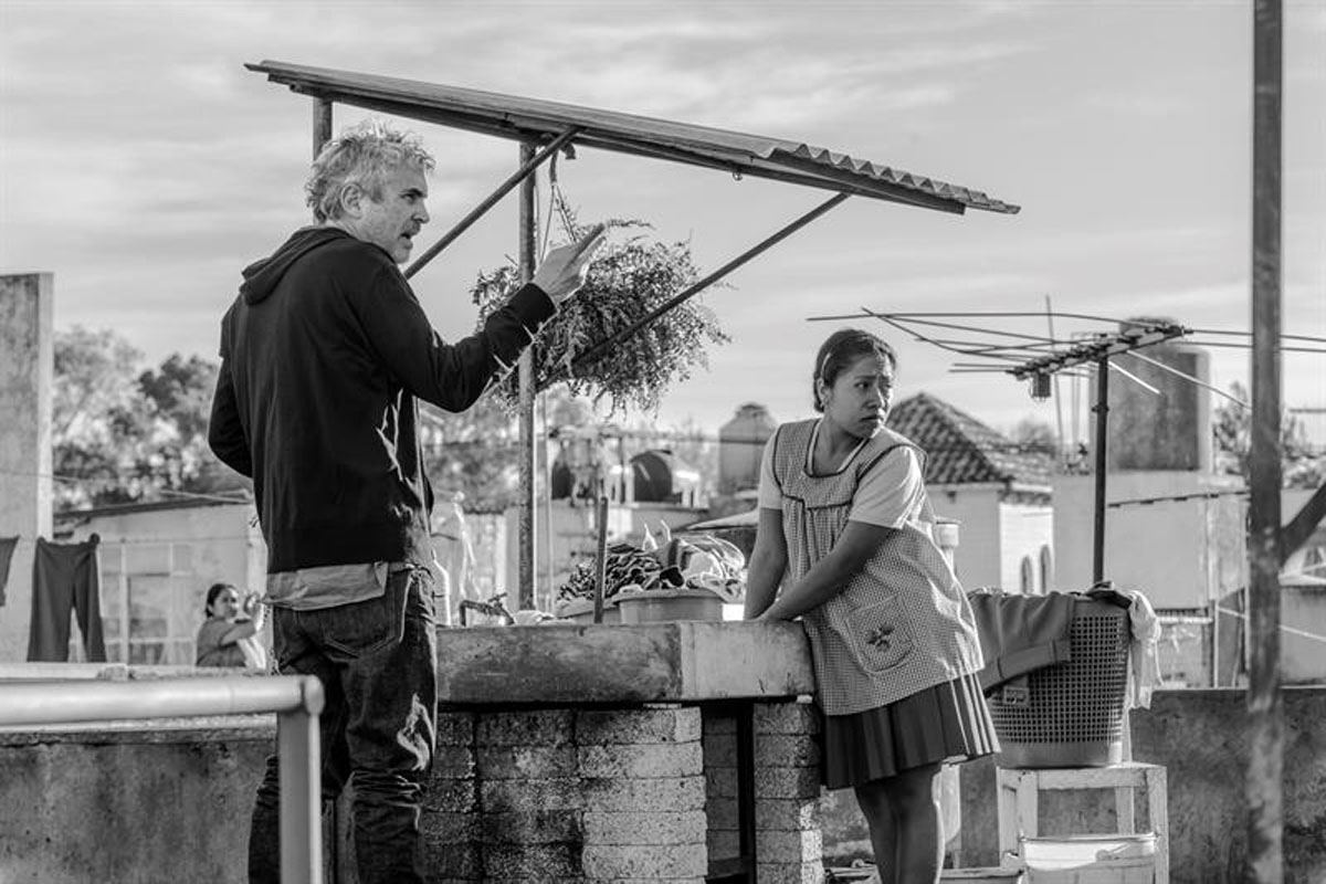 Roma, Alfonso Cuarón, Oscar, Mejor Película Extranjera, Yalitza Aparicio,