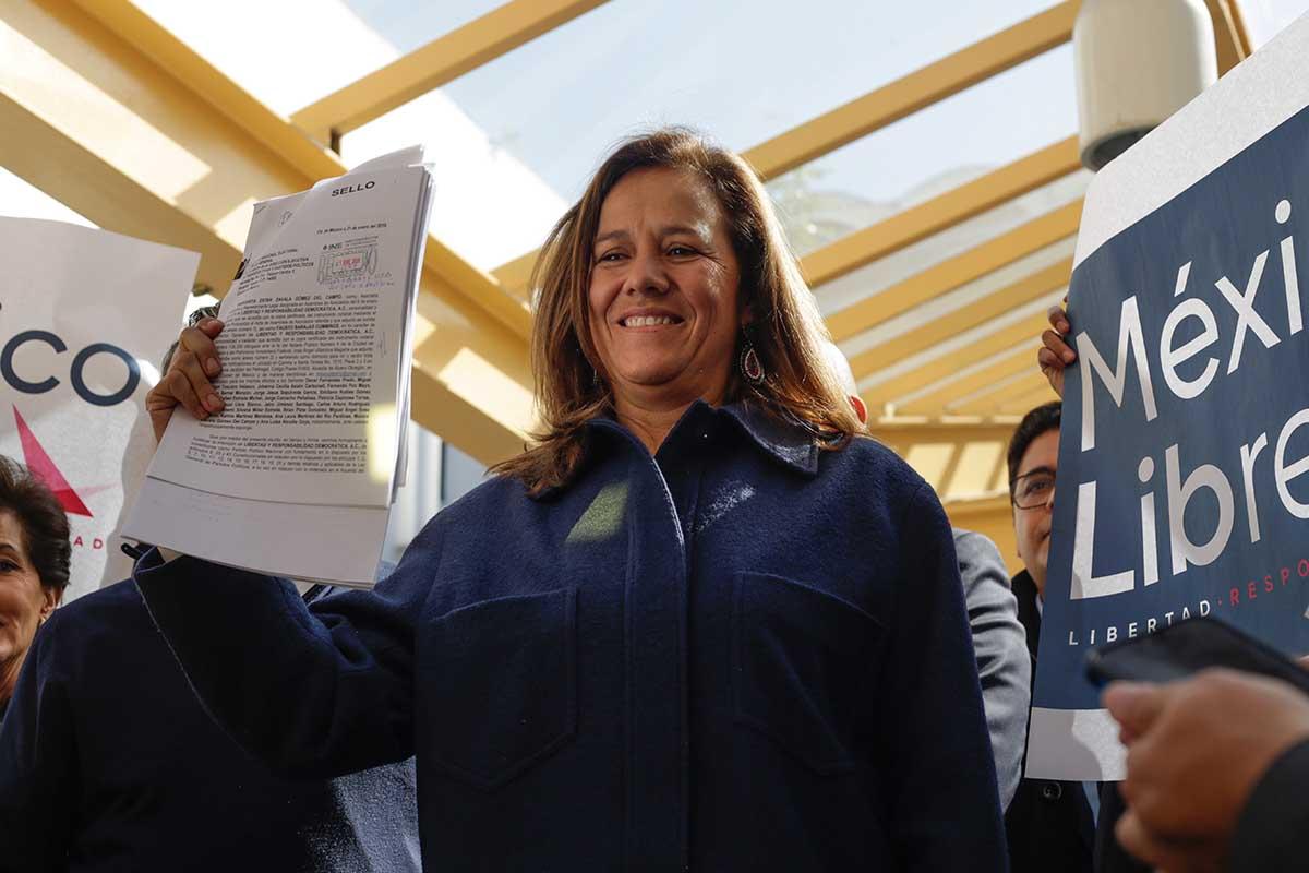 """INE, Margarita Zavala, financiamiento, Partidos Políticos, México Libre, Libertad y Responsabilidad Democrática, A. C."""", Felipe Calderón,"""
