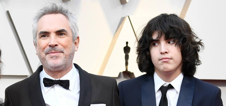 hijo de Alfonso Cuarón