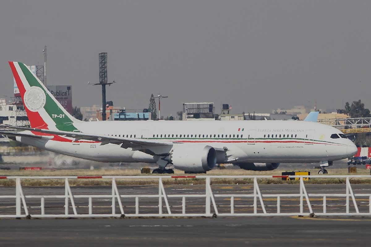 Sedena, INAI, avión presidencial, Boeing, Hangar,