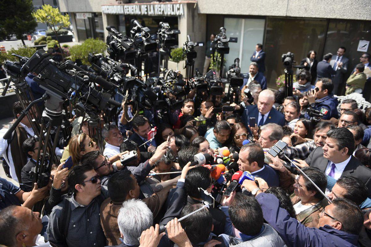Cuauhtémoc Blanco, Graco Ramírez, Morelos, Elena Cepeda, Manuel Rodrigo Gayosso Cepeda, Delincuencia organizada,