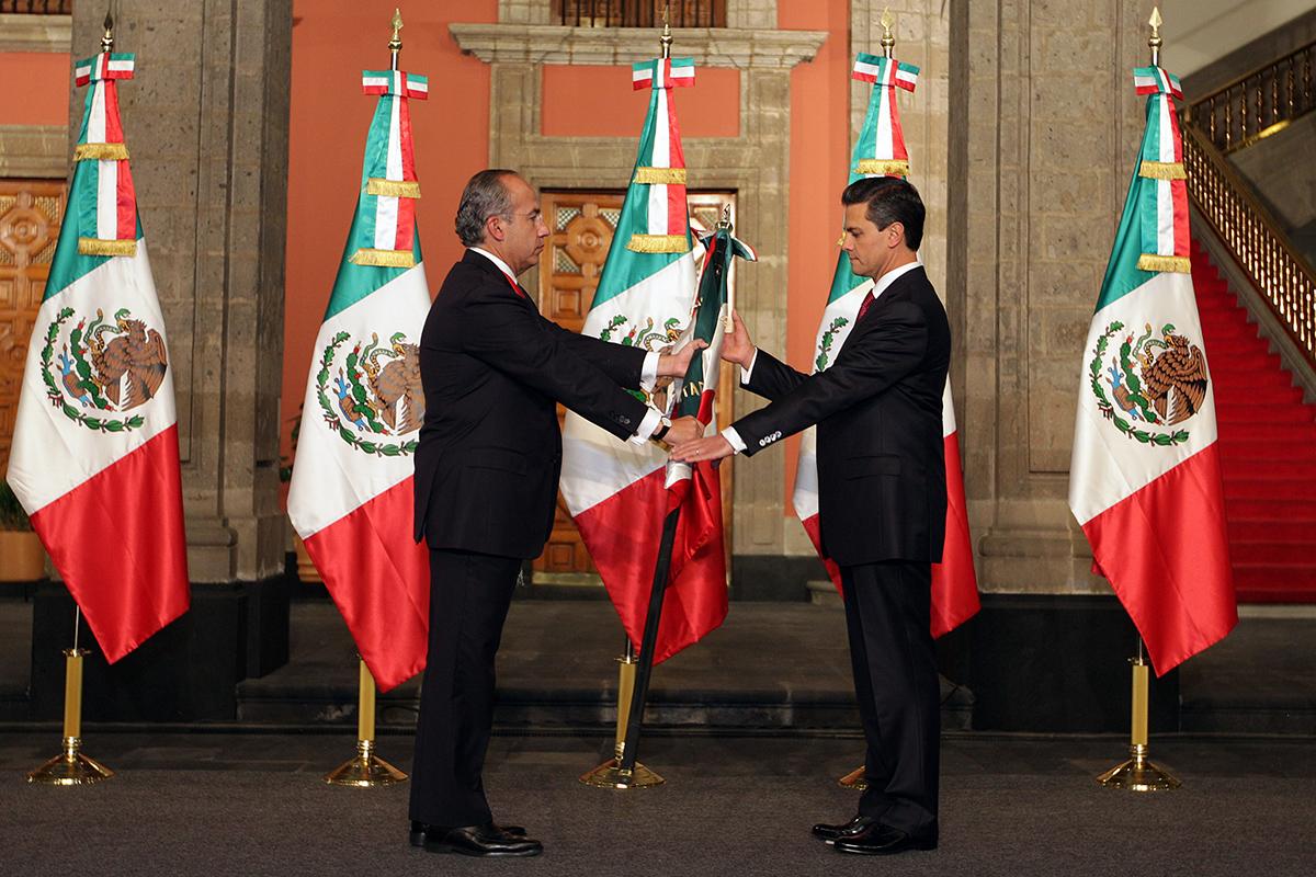 Felipe Calderón, Enrique Peña Nieto, INAI, Presidencia, Viajes,