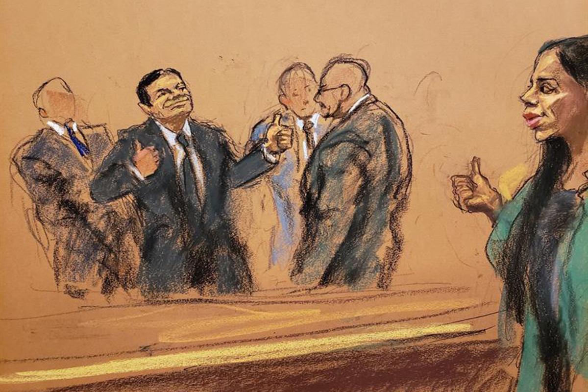 Joaquín Guzmán Loera, Chapo Guzmán, El Chapo, Emma Coronel, Cártel de Sinaloa, narcotráfico, Nueva York, Juicio,