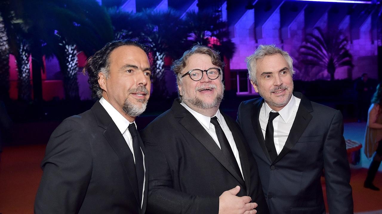Alejandro González Iñárritu, Guillermo del Toro y Alfonso Cuarón.