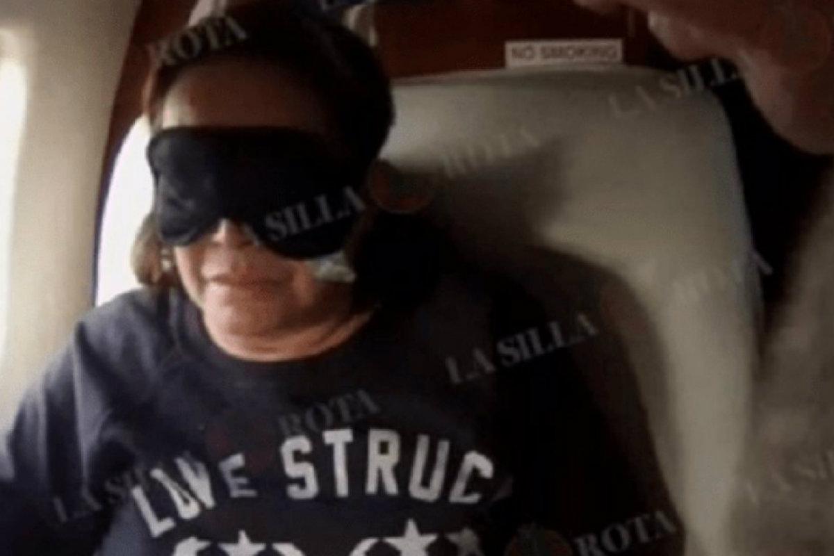 Elba Esther Gordillo, captura del video
