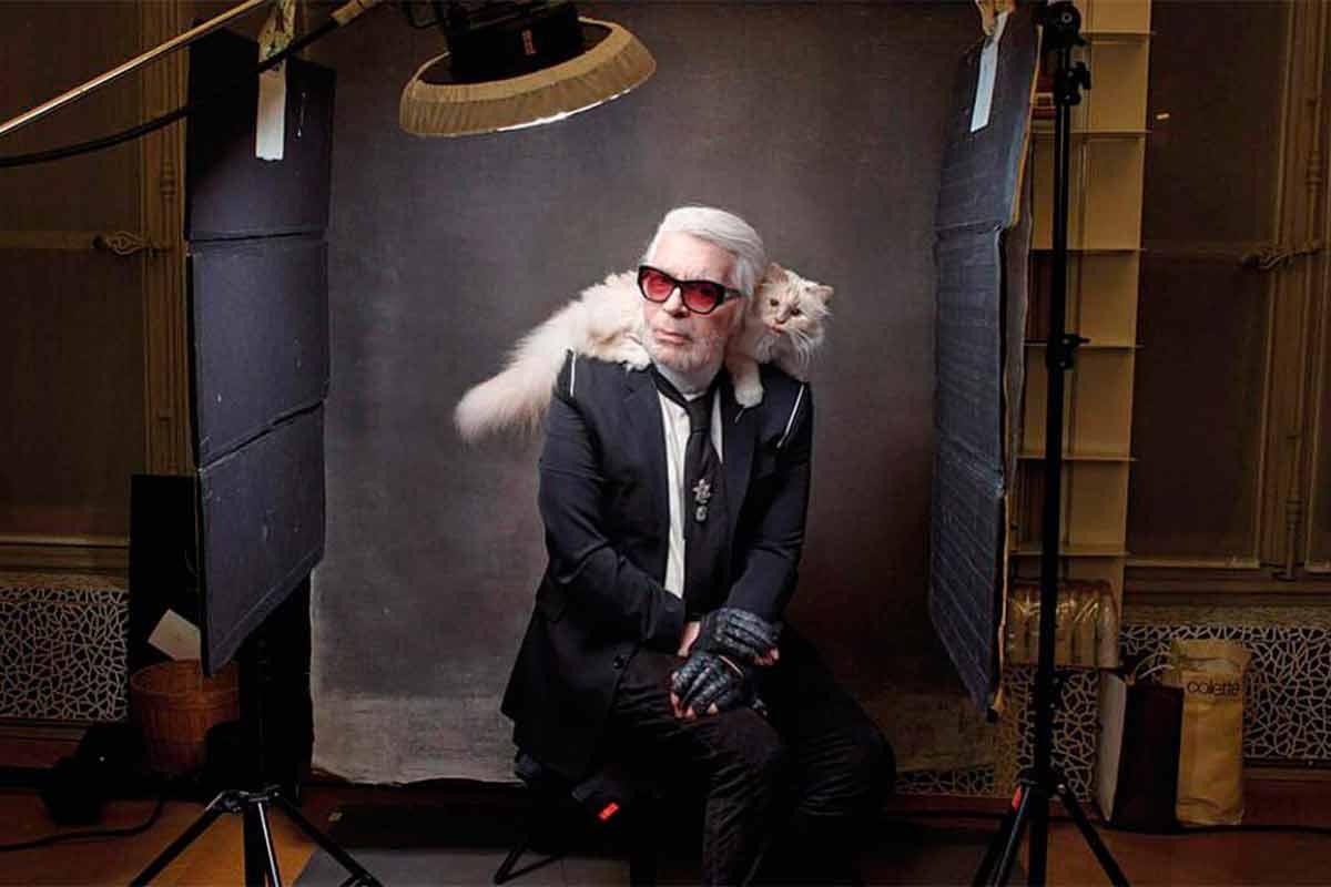 Karl Lagerfeld, choupette, Chanel