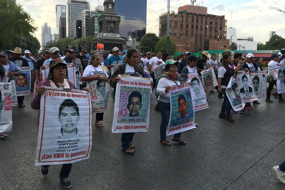 Normalistas, Ayotzinapa, Iguala, Guerrero, Verdad histórica, antimonumento a los 43,