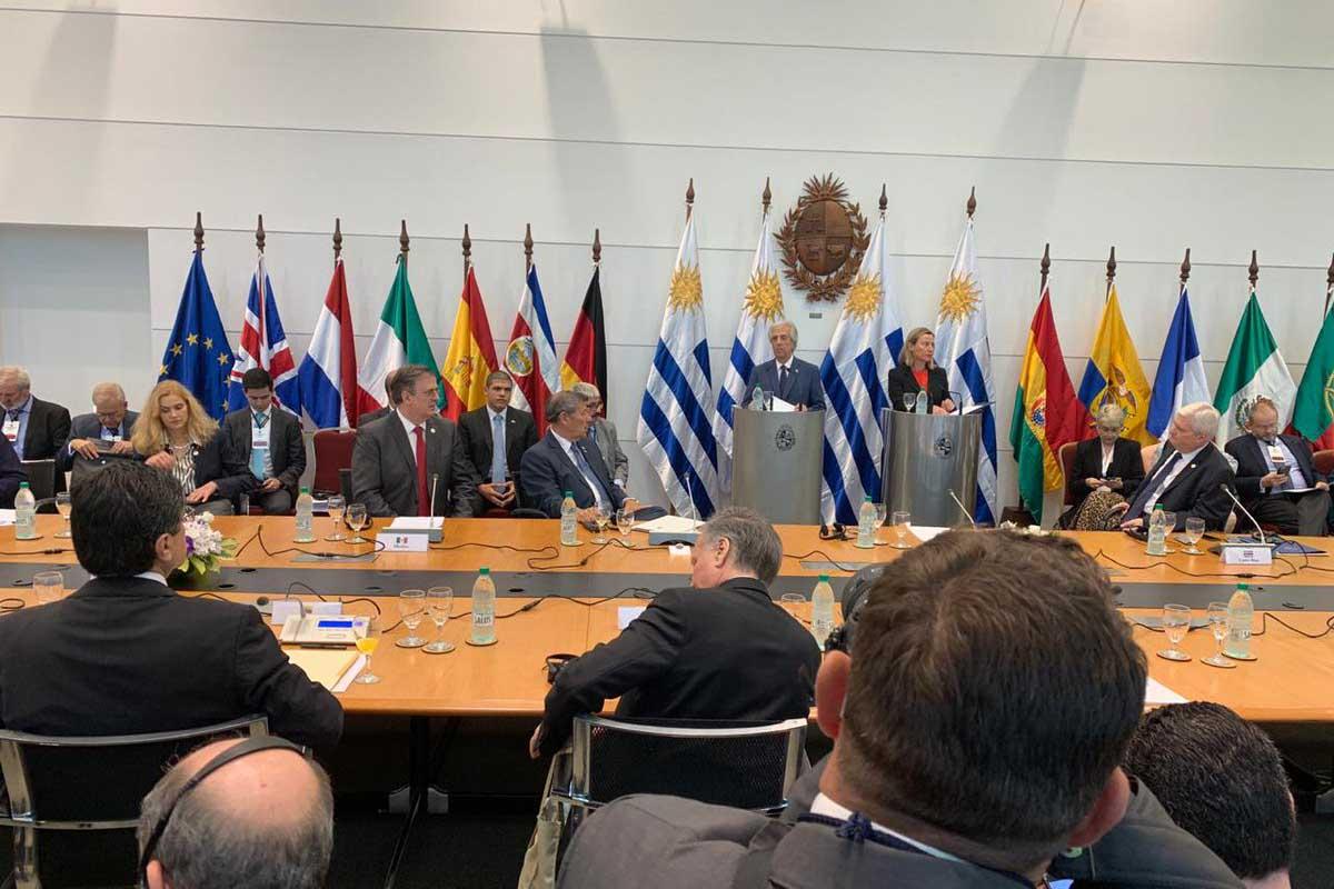 Venezuela, Nicolás Maduro, Juan Guaidó, Uruguay, México, Unión Europea, Tabaré Vázquez,