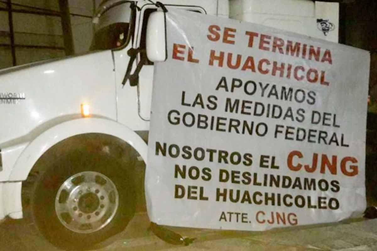 CJNG, huachicol, AMLO