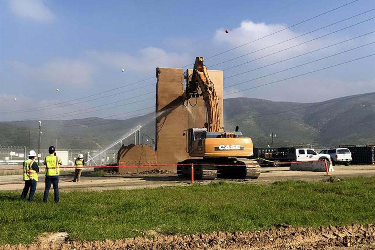 Donald Trump, Prototipos muro, Muro fronterizo, San Diego, Tijuana, Migrantes,