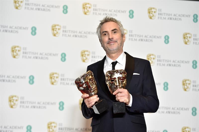 """Alfonso Cuarón gana cuatro Premios Bafta con """"Roma"""""""