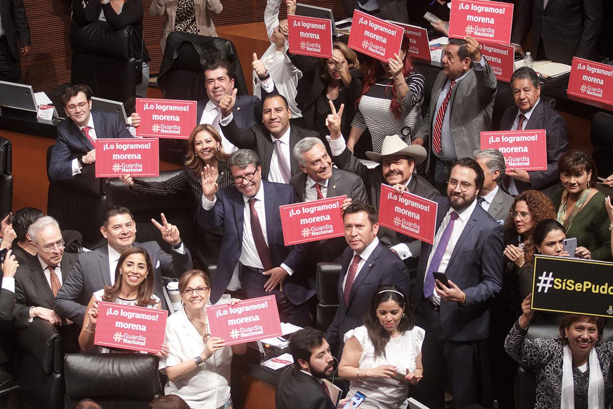 Guardia Nacional, Senado, Ejército, Ricardo Monreal, Morena