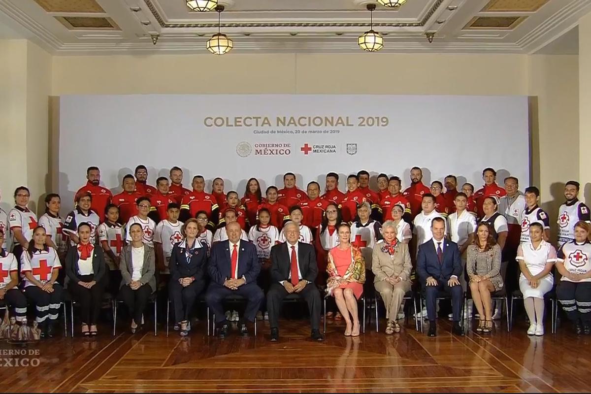 Cruz Roja, AMLO, Donativos, Colecta Anual de la Cruz Roja 2019,