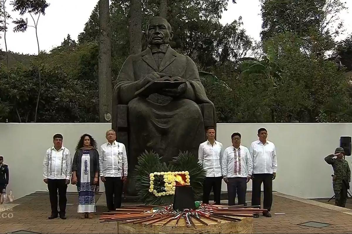 Benito Juárez, AMLO, Guelatao, Oaxaca,