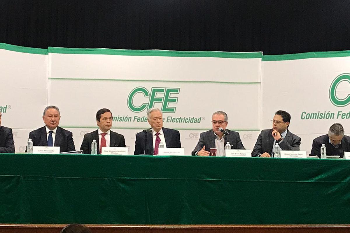 CFE, Comisión Federal de Electricidad, Manuel Bartlett , carbón,