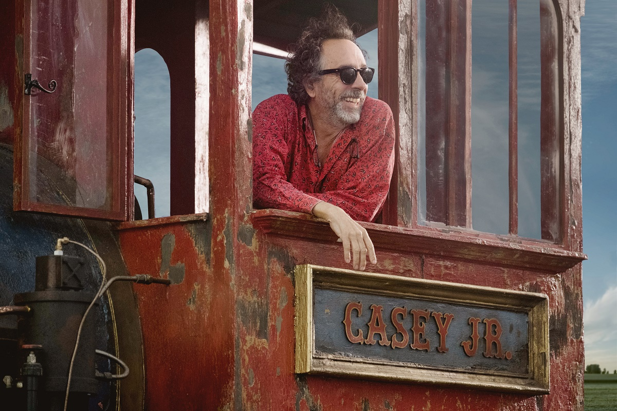 Tim Burton, director de Dumbo