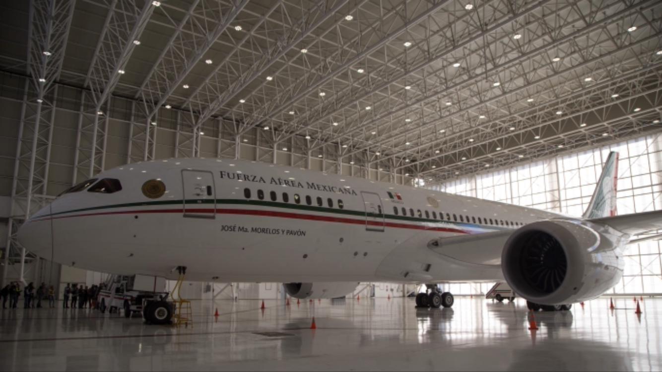 Arranca proceso de venta del avión presidencial