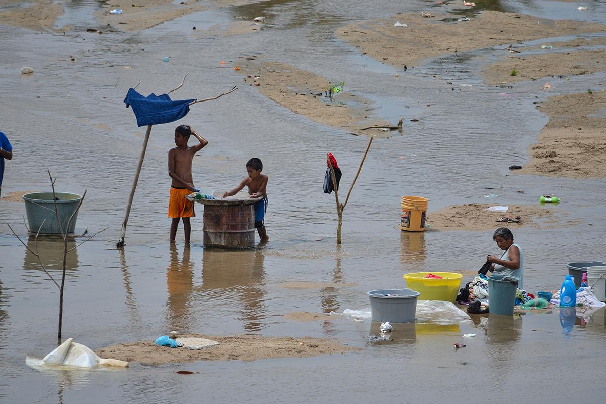 Agua Potable, Ríos, UNAM, saneamiento, drenaje, Problemas de salud,