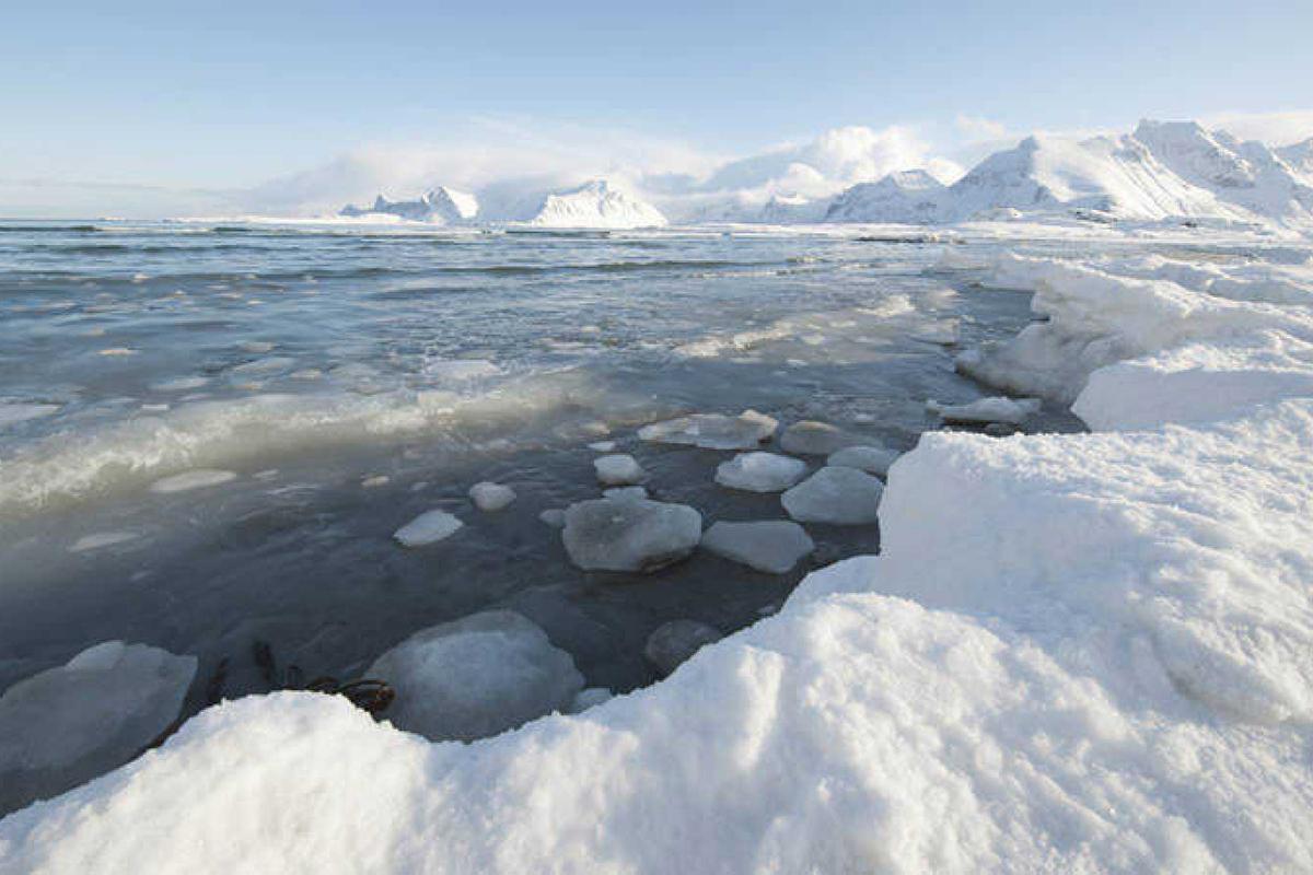 Ártico, hielo, NASA, primavera, Verano,