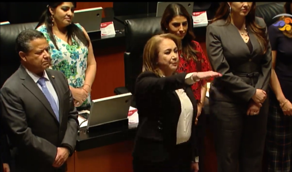Yasmín Esquivel Mossa, Senado, ministra, Yasmín Esquivel Mossa, Loretta Ortiz, Celia Maya, SCJN, Margarita Luna Ramos,