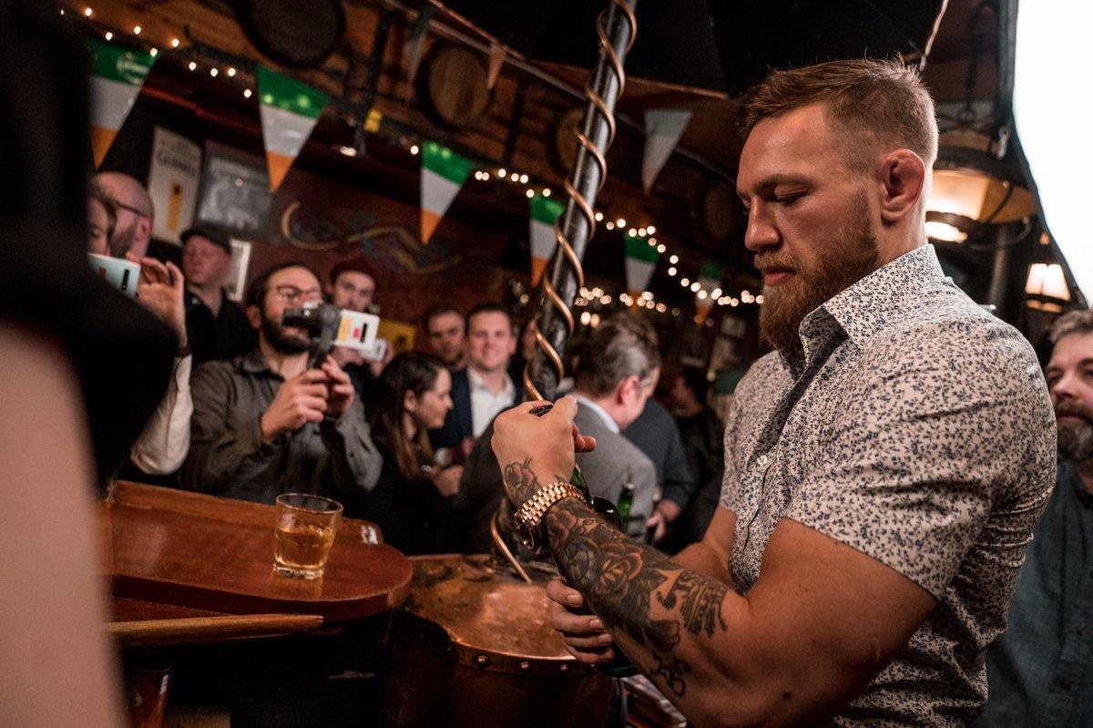 McGregor anuncia su retiro: Foto: Twitter