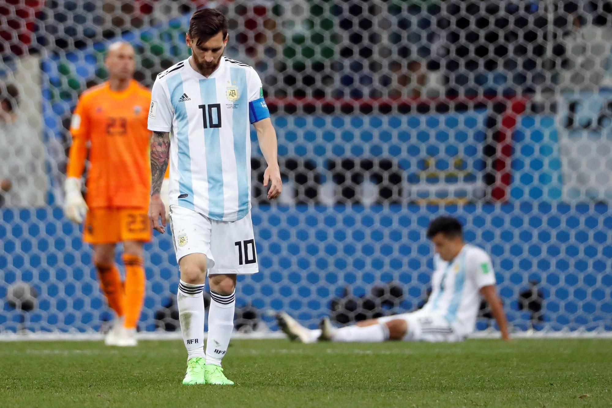 Messi, selección argentina