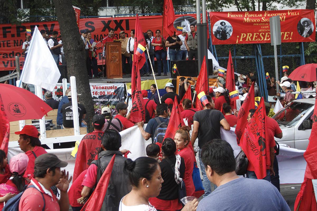 Frente Francisco Villa, Panchos Villa, manifestaciones, Calles, Bloqueos,