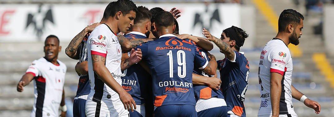 Puebla vapuleó a los Lobos BUAP. Foto: Liga MX