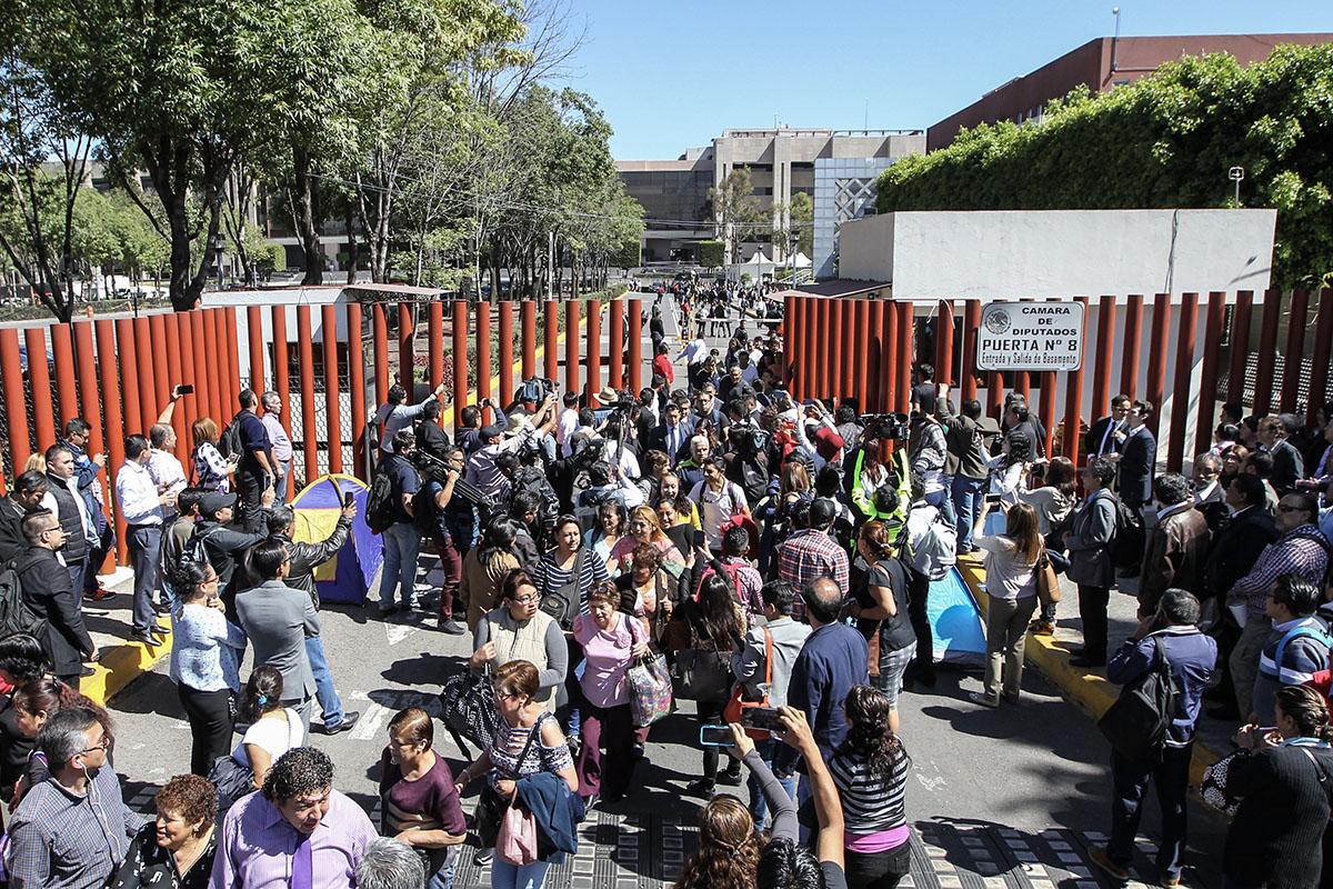 CNTE, Reforma Educativa, Maestros, Cámara de Diputados, Morena, Porfirio Muñoz Ledo,