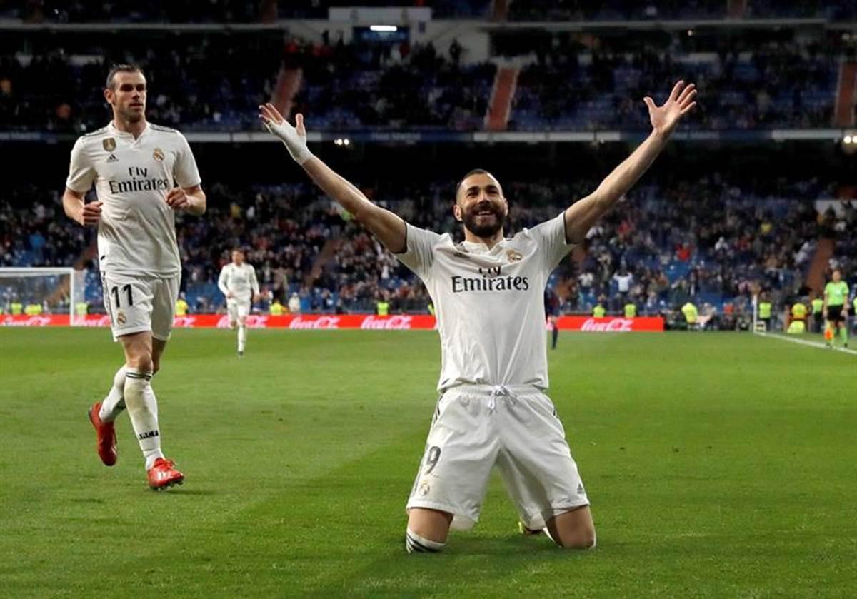 Real Madrid sacó valioso triunfo. Foto. EFE