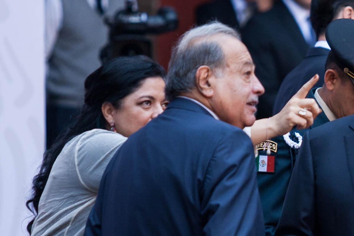 Carlos Slim, AMLO, 100 Días, empresario, Carso, Forbes,