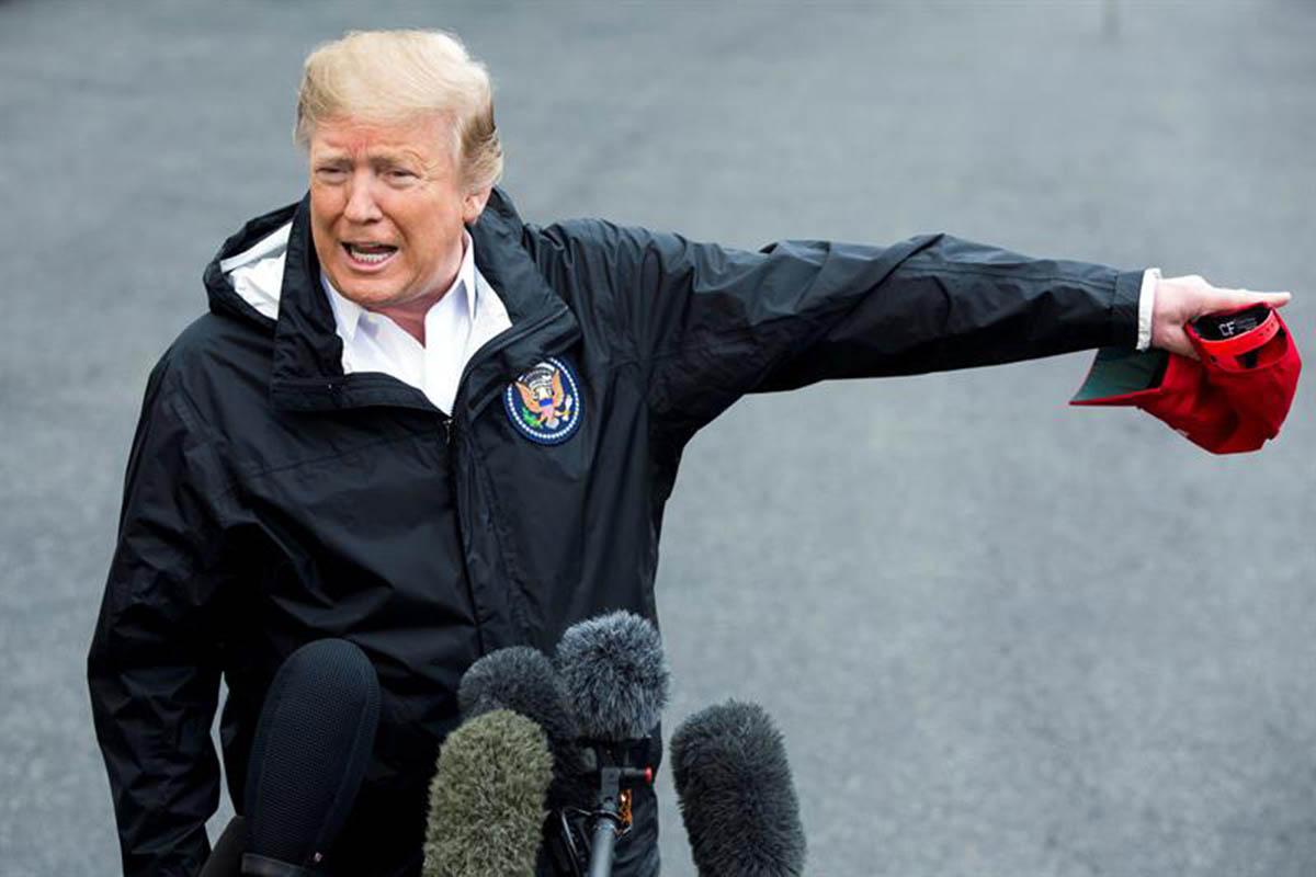 Donald Trump, Presupuesto, Estados Unidos, frontera, Defensa norteamericana,